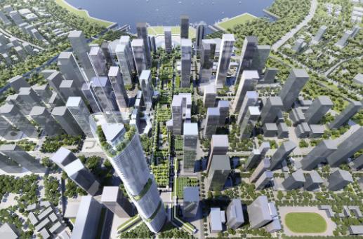 Rogers Stirk Harbour+Partners construirán un parque elevado en China
