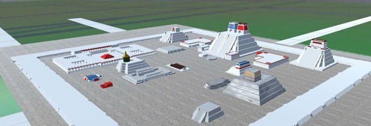 IPN crea aplicación para reconstruir templos prehispánicos en 3D