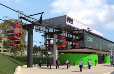 En 2020, listas primeras líneas del Cablebús en CDMX