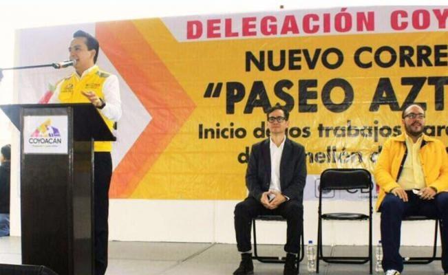 Rehabilitarán camellón de Avenida Aztecas en Coyoacán