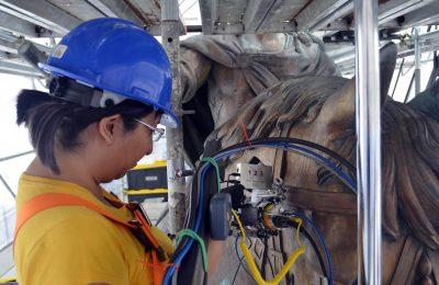 UNAM usó técnica de espectroscópica para restaurar El Caballito