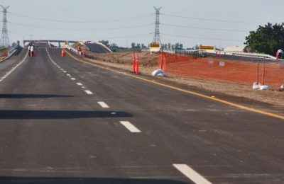 Inauguran obras de infraestructura vial en Sinaloa