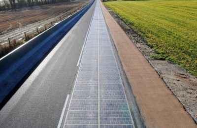 Inauguran carretera solar en Francia