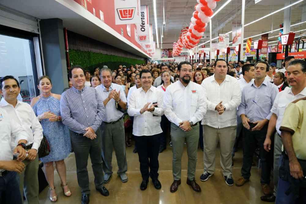 Inauguran sucursal 231 de supermercados Ley