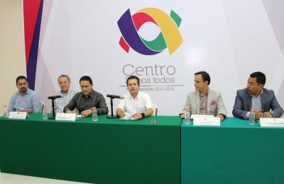 Anunciaron construcción de plaza comercia en Tabasco