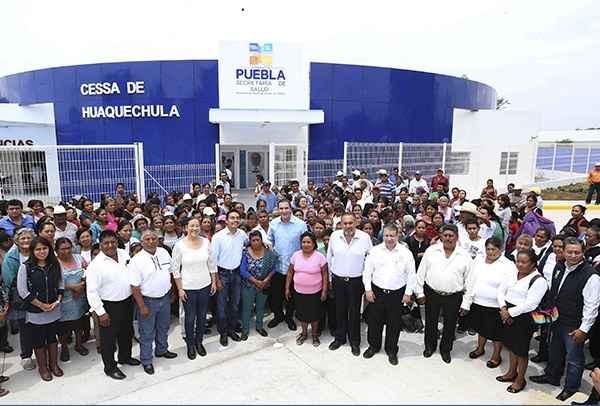 Entregan obras en Puebla por más de 36 mdp