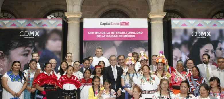 Construyen Centro de Interculturalidad CDMX