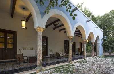 Restauraron la Hacienda San Antonio Chamblé