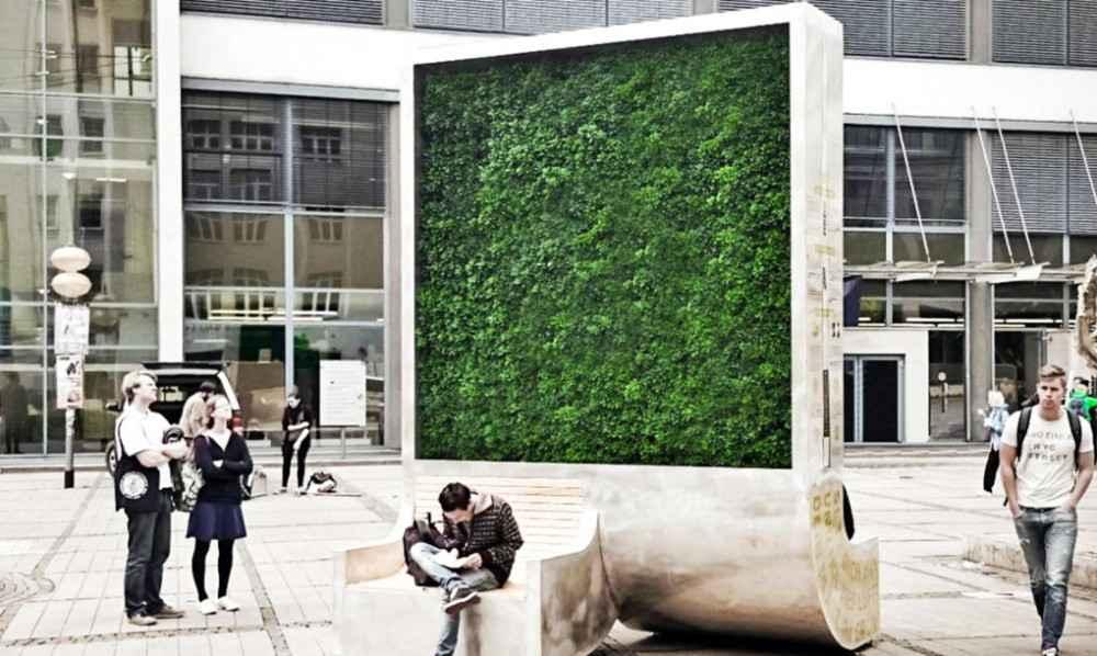 Crean bosque móvil para limpiar aire de las ciudades