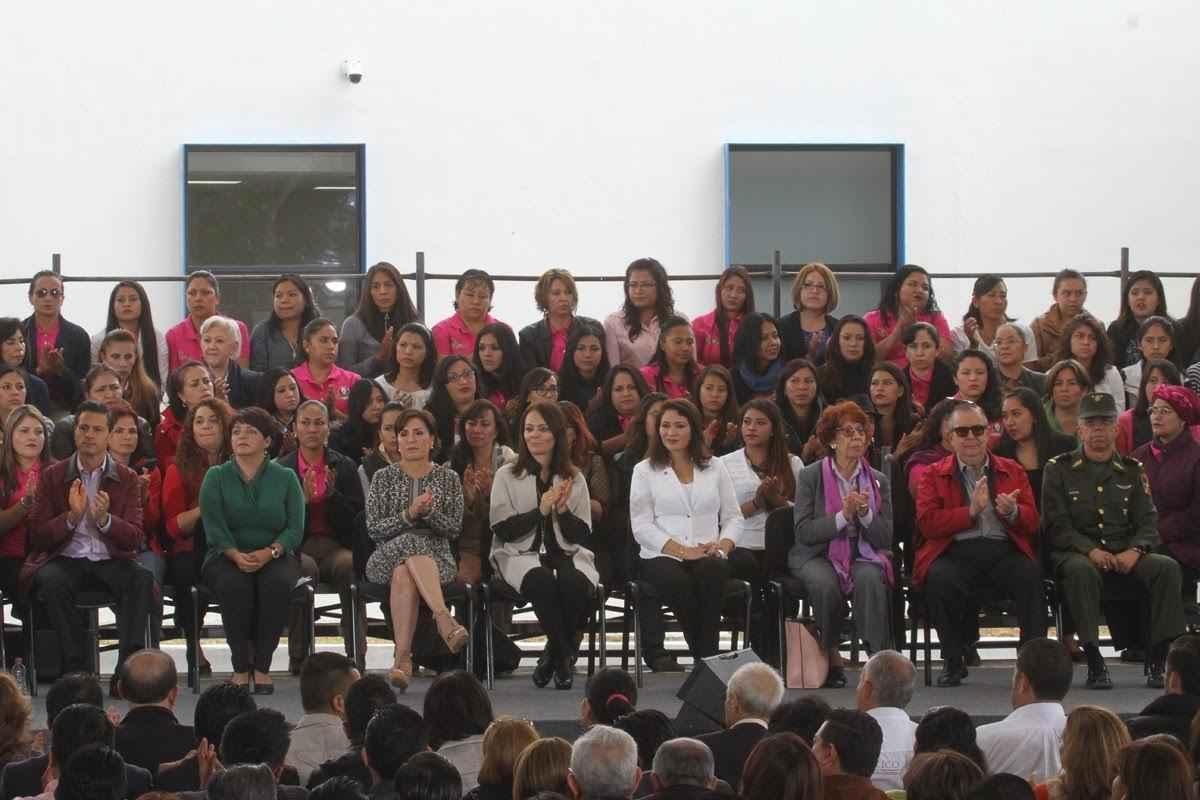 """Inauguran """"Ciudad de las mujeres """"en Hidalgo"""