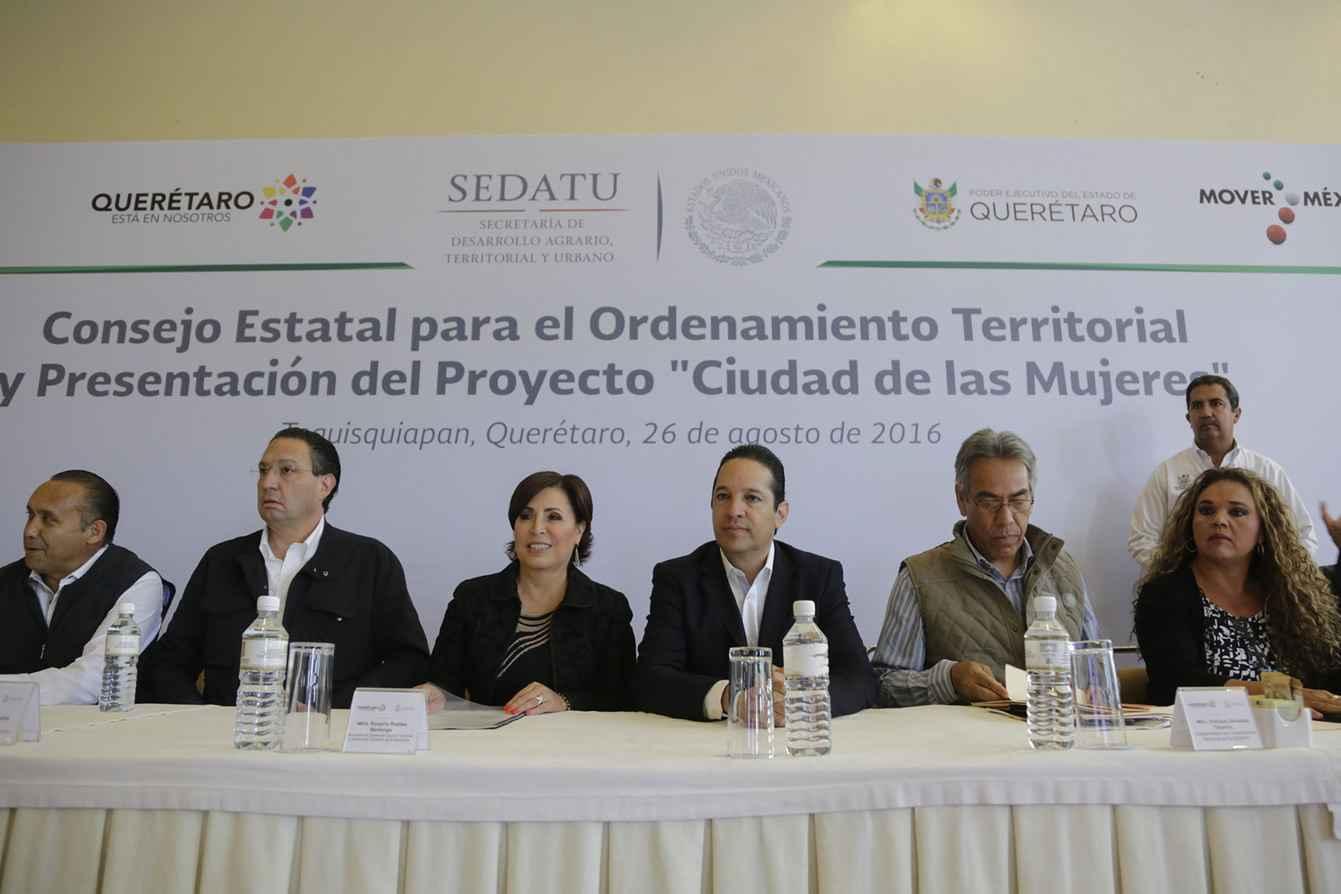 """Construyen """"Ciudad de las Mujeres"""" en Querétaro"""