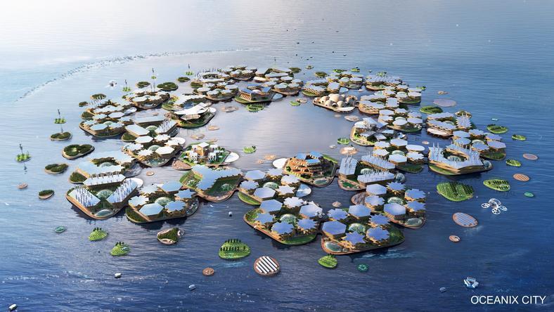 Ciudades Flotantes serían extensiones de ciudades existentes: Oceanix
