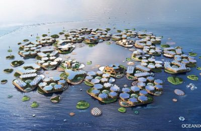 Presentan ante la ONU modelo de una ciudad flotante
