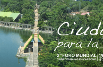 México recibirá Foro de Ciudades Bajas en Carbono