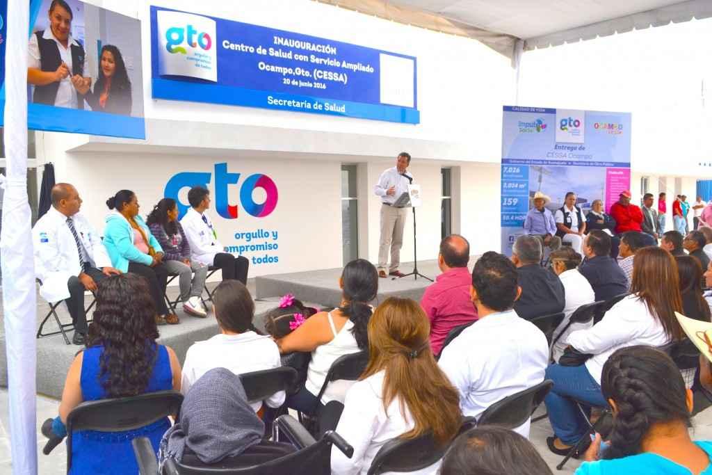 Entregan CESSA en Guanajuato para atender a 50 comunidades