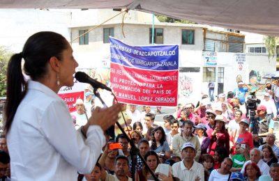 Claudia Sheinbaum propone fortalecer al Instituto de Vivienda