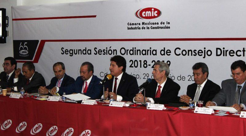 CMIC ratificó que sus agremiados trabajarán con AMLO