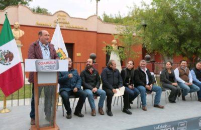 Mejora imagen urbana de Juárez, Coahuila