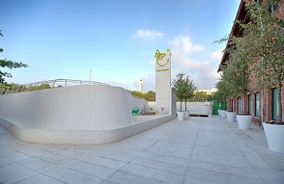 Usan concreto arquitectónico en construcción de nuevo Papalote Museo del Niño