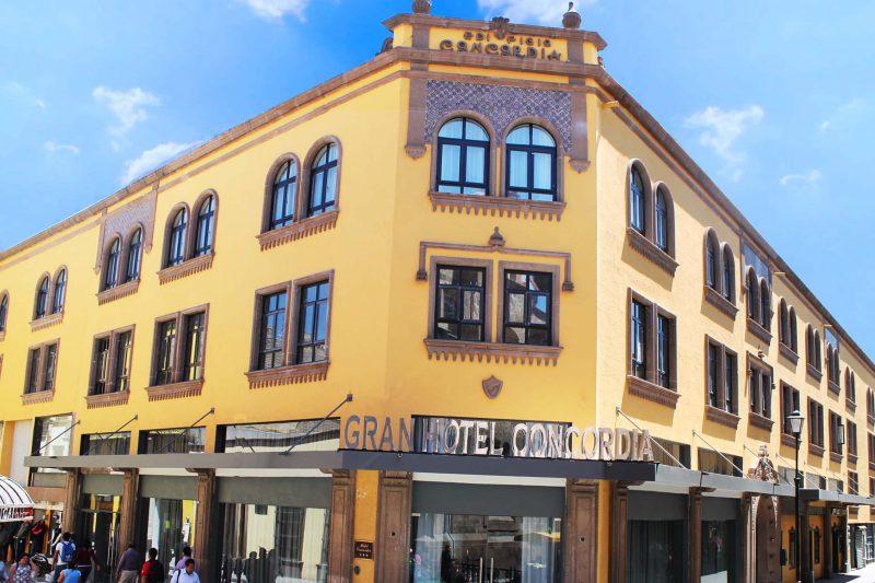 Gran Hotel Concordia abrió de nuevo al público