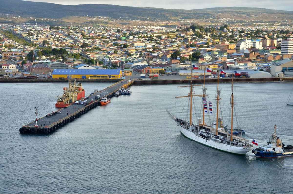 Transformarán puerto Muelle Arturo Prat en Punta Arenas, Chile