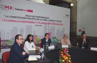 Constitución de la CDMX impulsa desarrollo sustentable