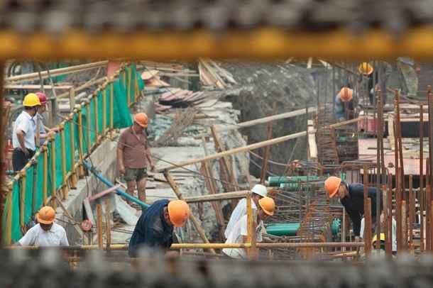 Presenta caídas el sector de la construcción