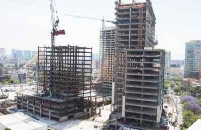 Actividad industrial de la construcción se mantiene a la baja