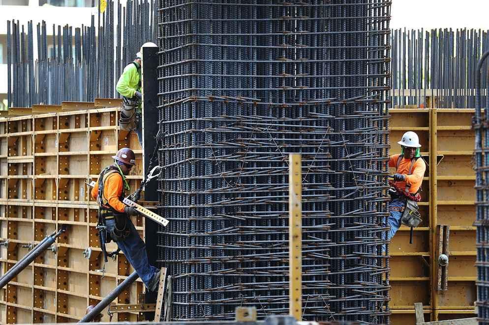 Disminuye gasto para la construcción en Estados Unidos