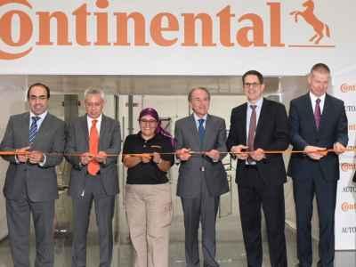 Inauguran planta Continental Automotive en SLP