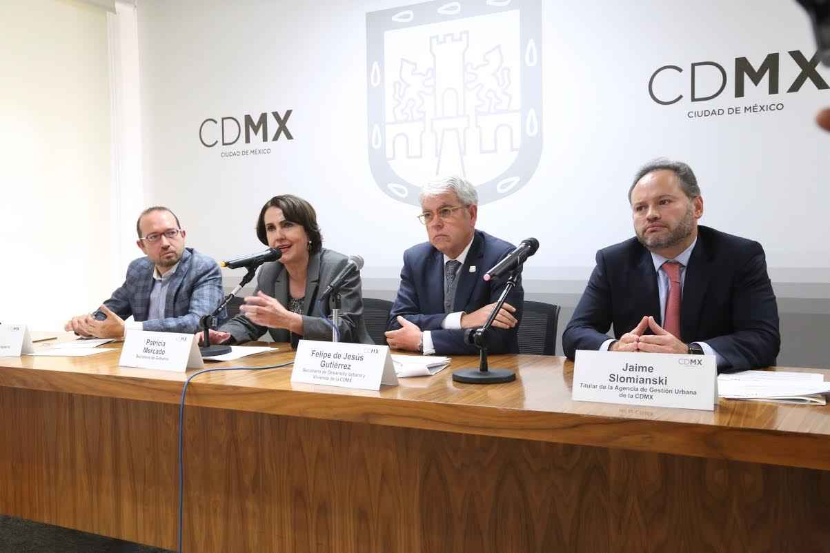 Informan sobre proyectos en espacios públicos de la CDMX