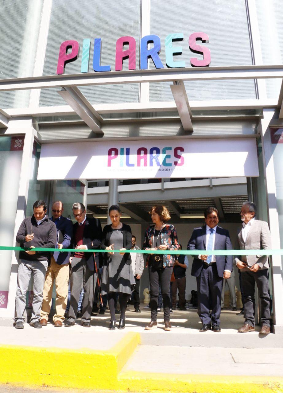 Sheinbaum inaugura el primer PILARES en alcaldía GAM