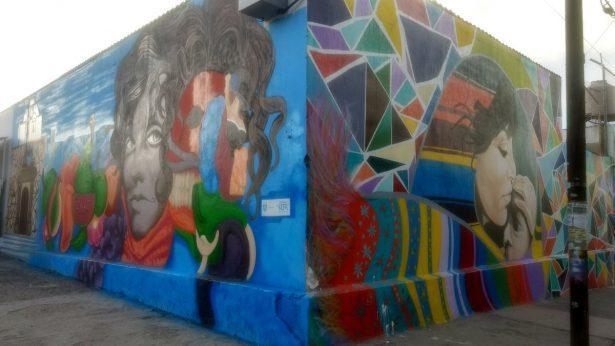 Jóvenes de Zapopan presentan mural Cosecha de Tradiciones