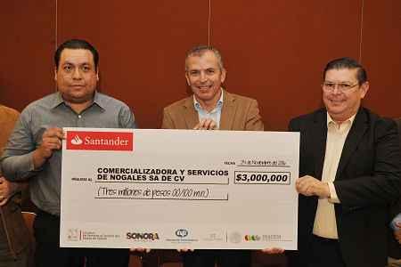 Otorgan 55 mdp a empresas turísticas de Sonora