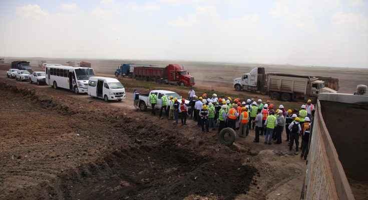 Presentan avances ambientales en la construcción del NAICM