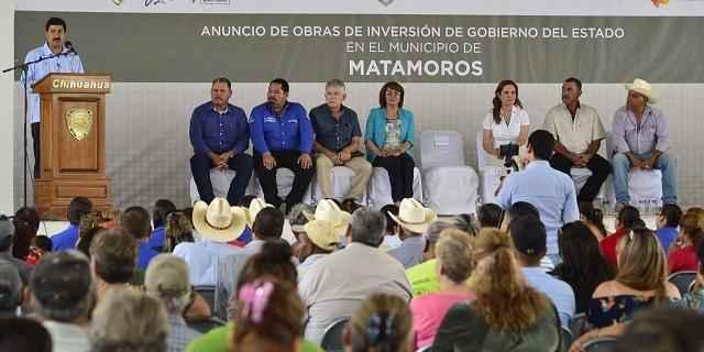 Anuncián inversión millonaria en Matamoros