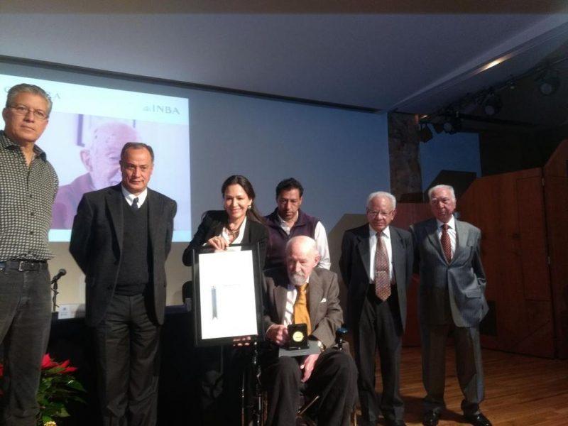 Reconocen contribuciones de Óscar de Buen a la arquitectura