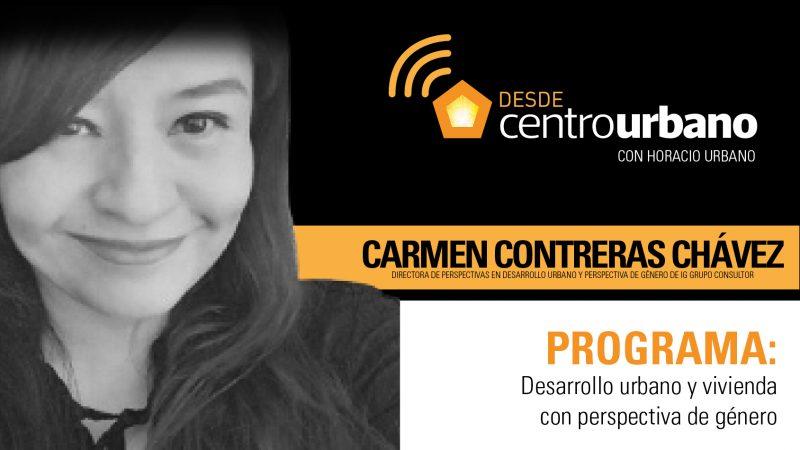 desarrollo urbano y vivienda con perspectiva de género_Carmen Contreras
