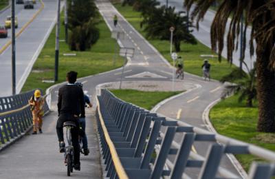 Celebran el Día sin carro en Bogotá