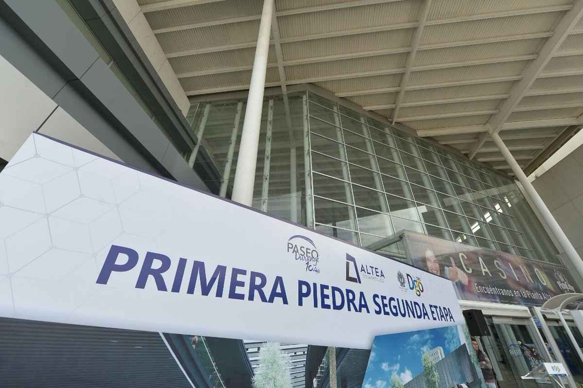 Ampliarán Centro Comercial Paseo Durango