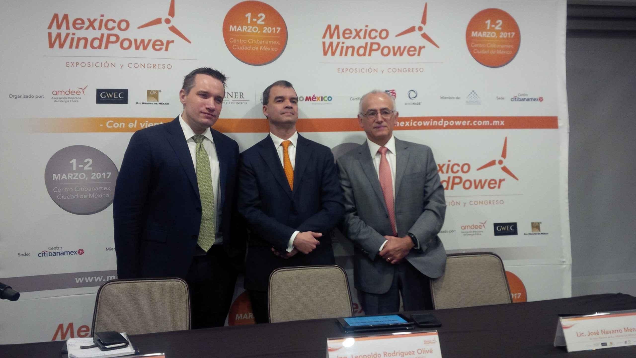 En México Wind Power analizarán energías limpias