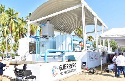 Inauguran planta potabilizadora en Guerrero
