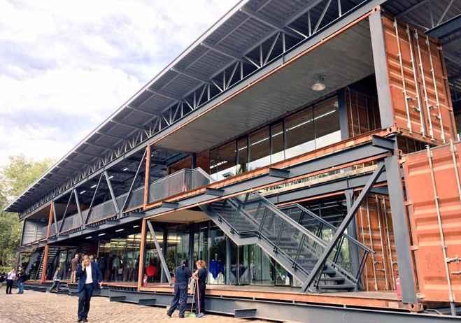Inauguran edificio reciclado en Chile