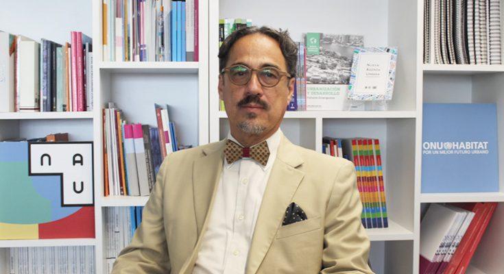 Eduardo López Moreno asume la coordinación de Onu-Habitat México