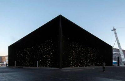 Edificio de nanopartículas se exhibe en Pyeongchang