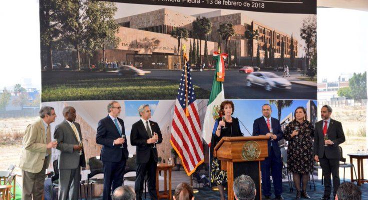 Preparan construcción de nueva embajada de EUA