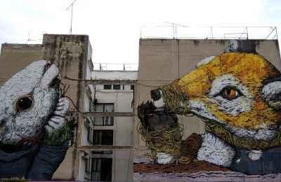 Promueven la producción y conservación del arte urbano