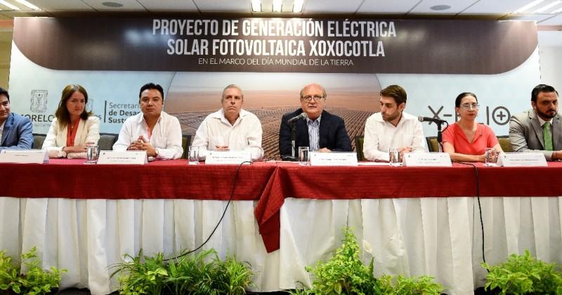 Instalarán primera planta de energía solar en Morelos