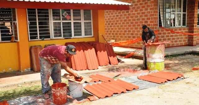 Hogares uni n apoya a escuela en quintana roo portal for Mobiliario y inmobiliario