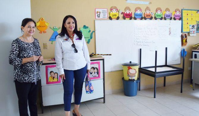 Las obras beneficiarán a cerca de 140 niños y niñas que asisten a esta escuela